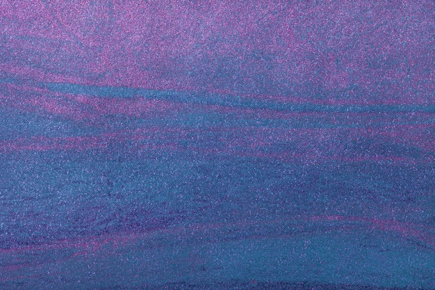 Abstract art background navy blue with purple color. multicolor painting on canvas.