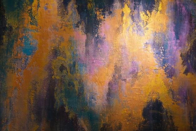 Абстрактное искусство фон живопись на холсте