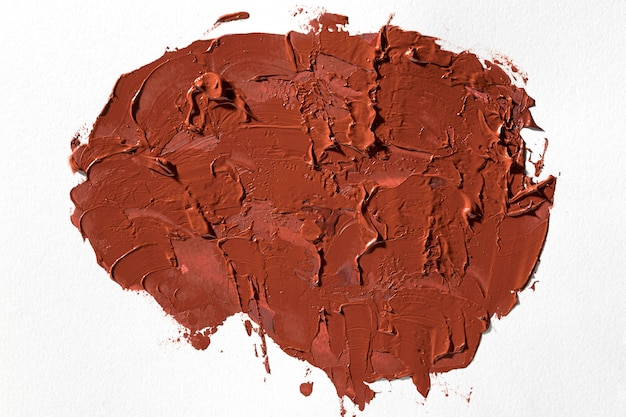 抽象芸術茶色の塗料汚れ