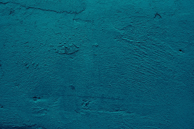 Abstract art grunge blue dark cement or concrete clean wall texture background
