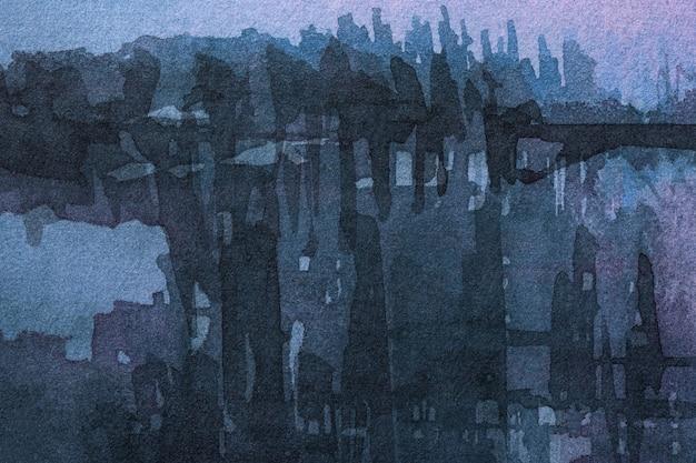 Абстрактное искусство темно-синего цвета.
