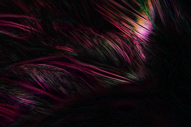 テクスチャ背景の羽の美しいペンキの抽象芸術。