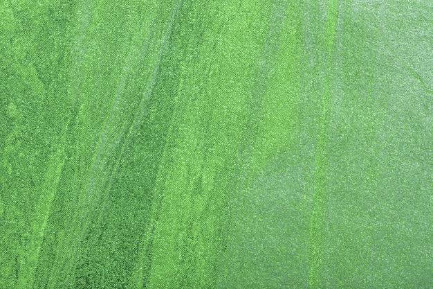 抽象芸術の表面の緑とオリーブ色
