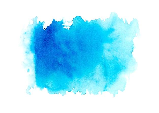 Абстрактное искусство акварельные краски на белом фоне