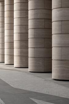 추상적 인 배경 건축 선과 현대 건축 세부 사항