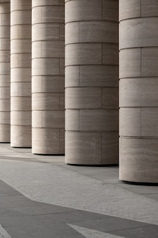 Abstract background architecture lines and modern architecture detail