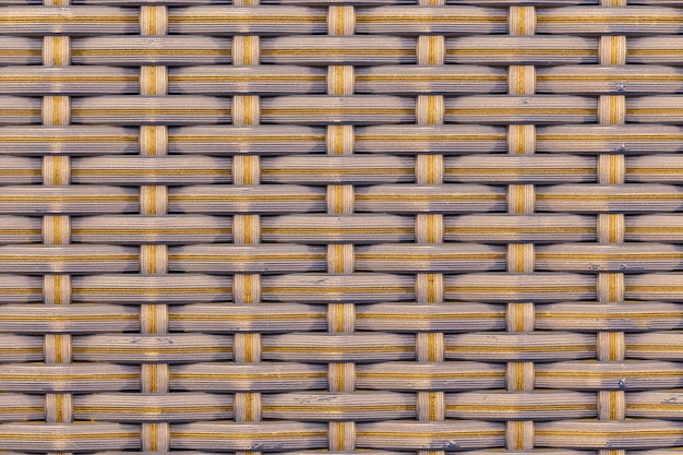 Abstract background of bamboo woven pattern