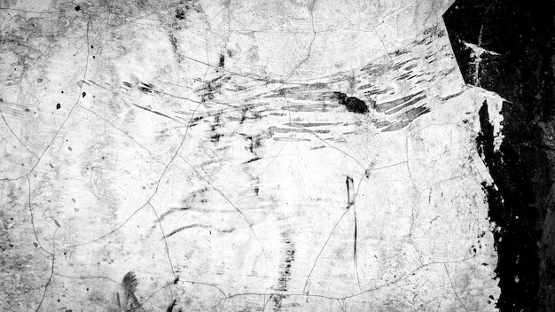 Abstract background of black and white old wall