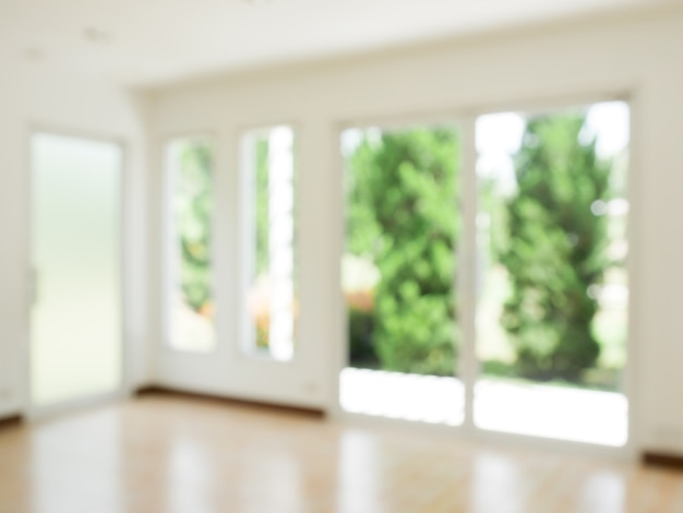 Abstract background blur modern living room