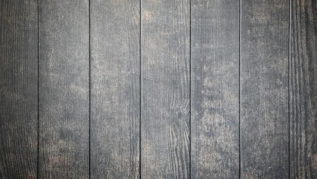 추상적 인 배경 오래된 나무 판자의 어두운 회색 그런 지 단단한 나무 질감