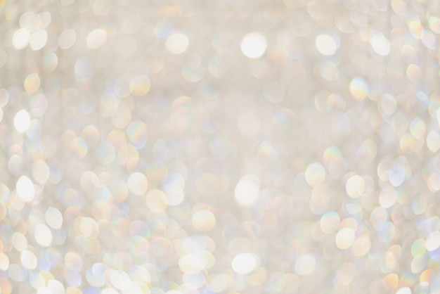 Abstract background,bokeh blurred beautiful shiny lights
