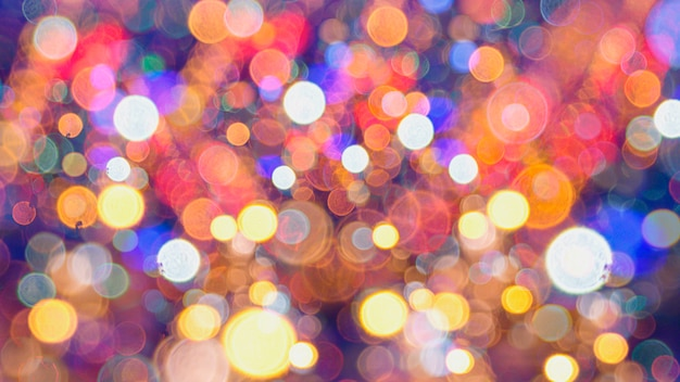 Abstract background bokeh used as a general design surface.