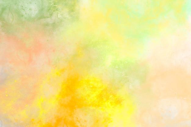 추상적인 배경 밝은 여름 색상 템플릿