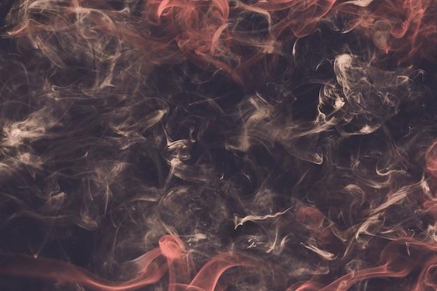抽象的な背景、茶色の煙のテクスチャの映画のようなデザイン