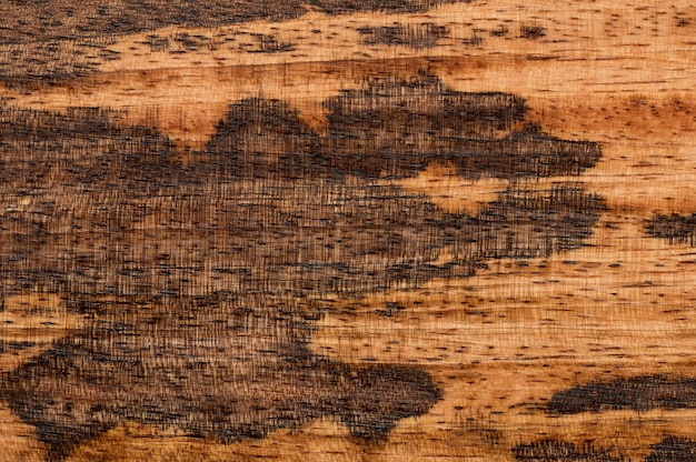 Abstract background of brown wooden surface. closeup topview for artworks. high quality photo
