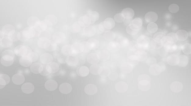 抽象的な背景の泡ボケ味がぼやけています。グラフィックスの泡ソフトグレー。柔らかい背景のボケ味サークルと灰色の背景。柔らかいボケ味は、灰色の光の壁紙をぼかします。