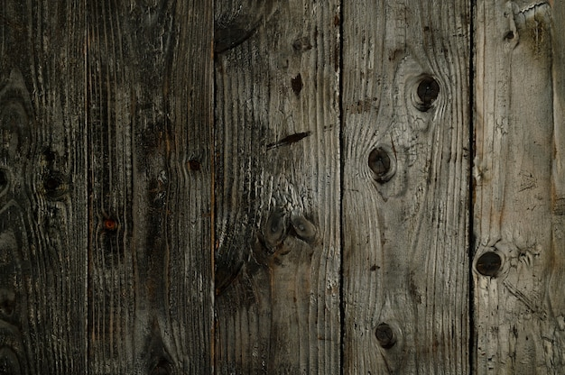Abstract background of burnt wooden boards closeup topview for artworks high quality photo