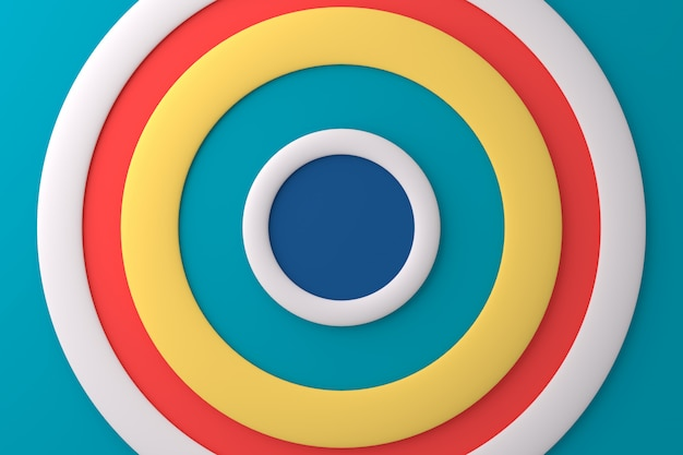 Abstract background of circle