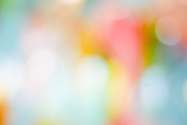 Abstract background colorful pastel bokeh pink yellow blue
