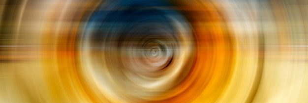 Abstract background of colorful spin circle radial motion blur. Premium Photo