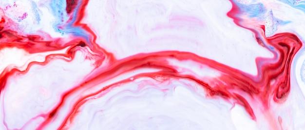 핑크 색상으로 추상적인 배경 효과입니다. 여러 가지 빛깔의 유행 배경입니다. 추상 페인트 잉크입니다. 환각 배경