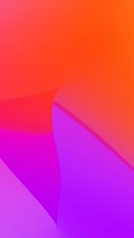 赤と紫の色を持つモバイルスマートフォン画面の抽象的な背景