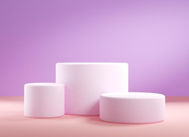 제품 프리젠 테이션, 3d에 대한 추상적 인 배경