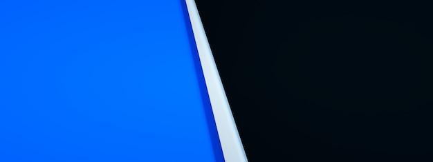 디자인, 3d 렌더링, 파노라마 이미지에 사용하기 위한 추상적인 배경
