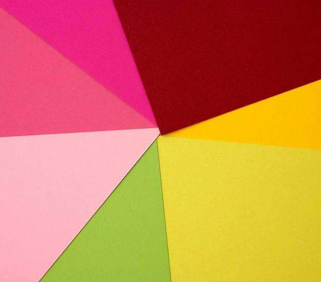 Абстрактный фон из цветной бумаги