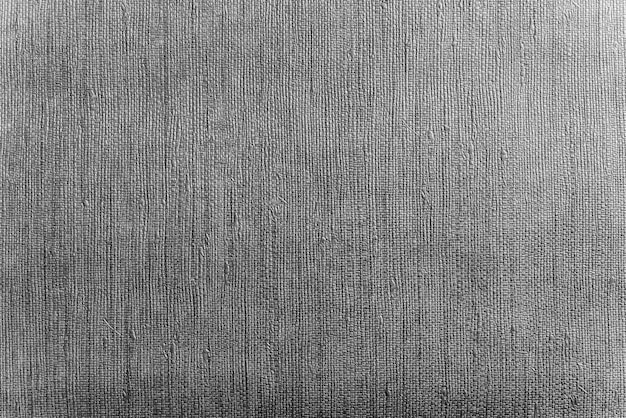 Abstract background from grey fabric texture decorated on wal