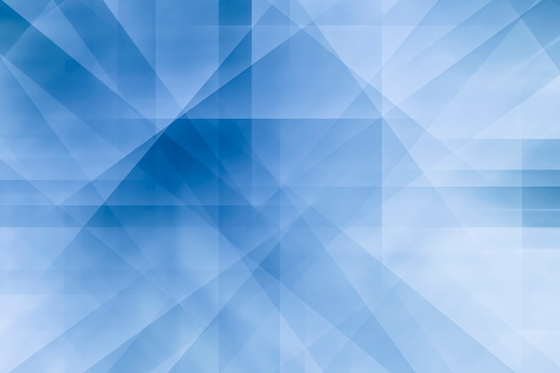 Abstract background from lines and shape in white and blue background.