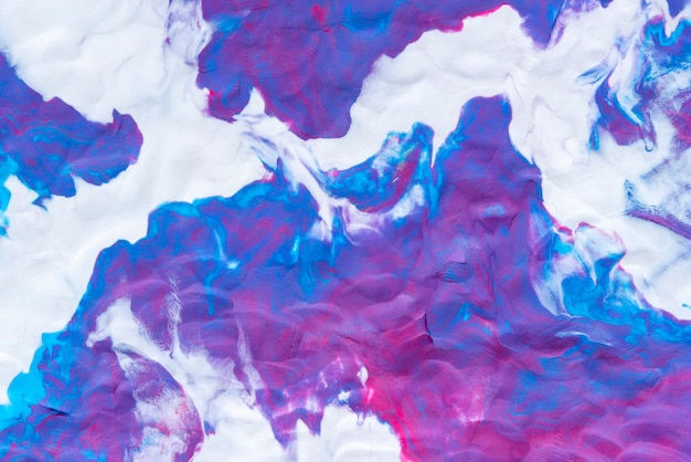 Абстрактная предпосылка от смешанного цвета текстуры глины в красочном.