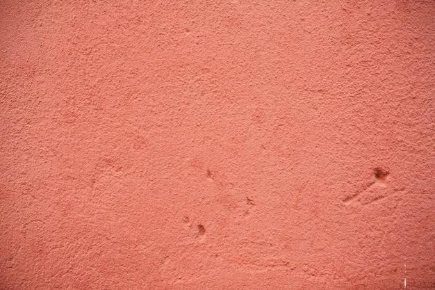 그런 지와 긁힌 빈티지 배경으로 오래 된 빨간 콘크리트 질감에서 추상적 인 배경