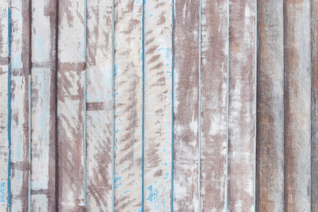 Abstract background from old wood plank pattern with painted and scratched.
