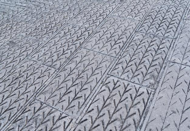 Абстрактный фон - серая тротуарная плитка