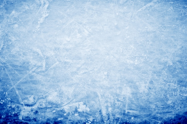Abstract background - hockey markings on ice