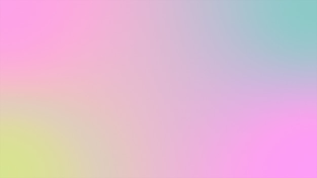Abstract background holographic gradient futuristic 3d rendering