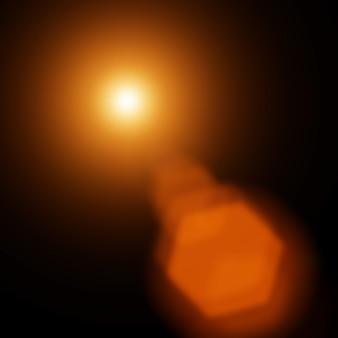 Абстрактный фон в оранжевых тонах