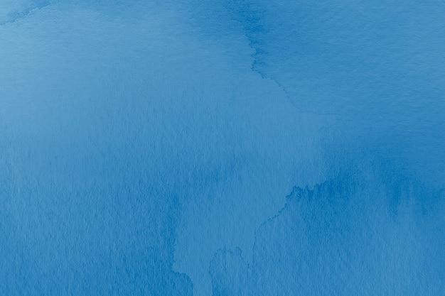 Абстрактный фон в акварельной синей эстетике
