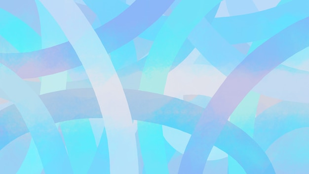 Абстрактный фон большой рисунок линии синяя линия в погоне за весом современное искусство живопись кистью