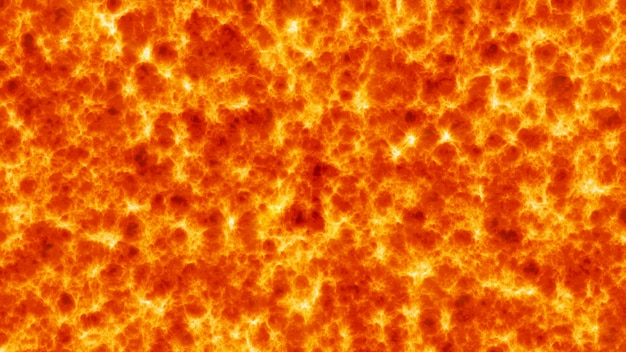 Abstract background of lava flowing