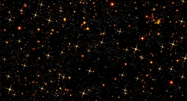 Абстрактный фон прекрасный черный яркий рождественские украшения праздник звезда