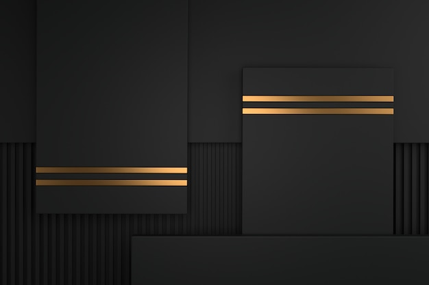 Abstract background of metallic with luxury concepts. 3d rendering.