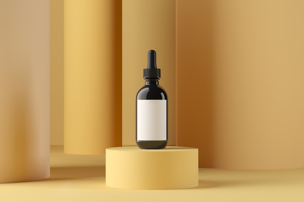 Абстрактный фон, макет сцены для отображения продукта