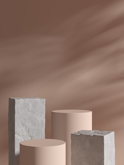 Abstract background, mock up scene for product display