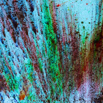 Abstract background of multicolored holi colors