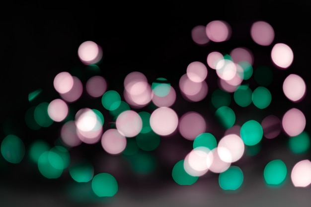 Abstract background of neon lights.