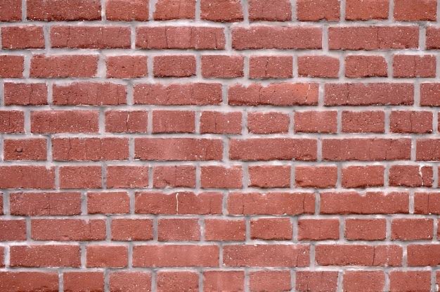 오래 된 붉은 벽돌 벽의 추상 배경
