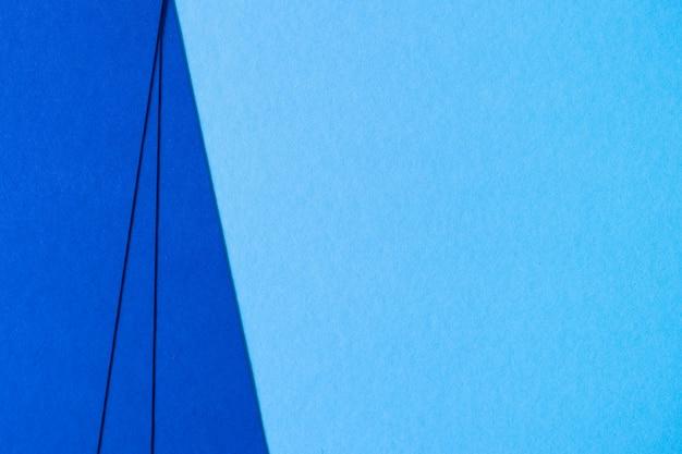 파란색 질감 판지 구성의 추상 배경
