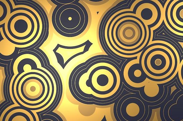 円の形の抽象的な背景